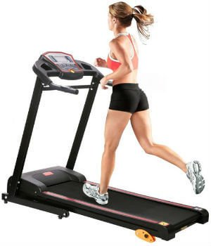 Merax 1.5HP Folding Electric Treadmill