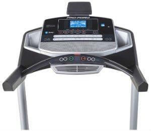 ProForm Pro 1000 Treadmill console