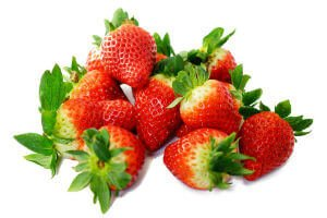 strawberries whole fruit and nuts