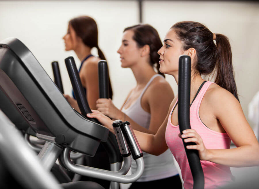 treadmill or elliptical