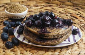 Flaxseed Meal Pancakes