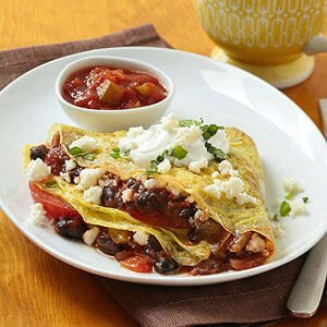 Knife-and-Fork Breakfast Burrito