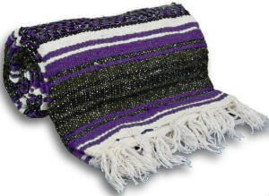 Yogaaccessories Tm Traditional Mexican Yoga Blanket