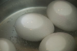 low carb snacks - hard boiled eggs