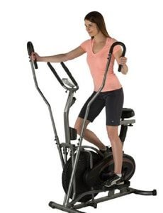 Fitness Reality E3000 2 In 1 Air Elliptical Exercise Bike