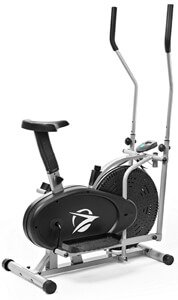 Plasma Fit 2 In 1 Elliptical Machine Trainer