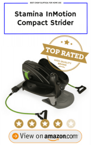 Stamina InMotion Compact Strider Best Cheap Elliptical
