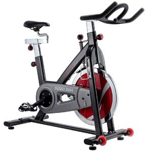 Sunny Health & Fitness SF B1002 Belt Drive Indoor Cycling Bike