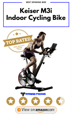 Keiser M3i Indoor Cycling Bike Best Spinning