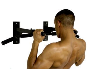 Ultimate Body Press Wall Mount Pull Up Bar 1