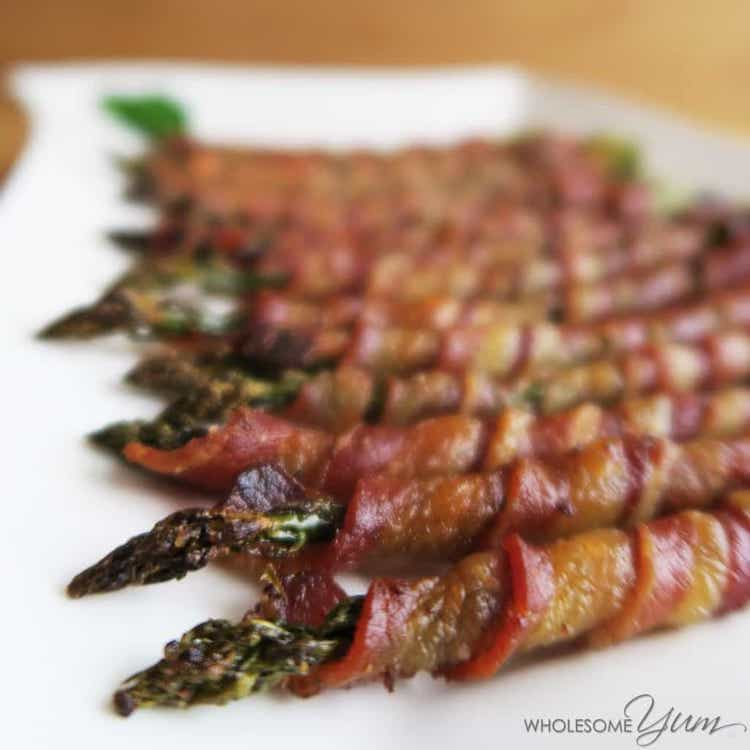 Bacon Wrapped Asparagus Min