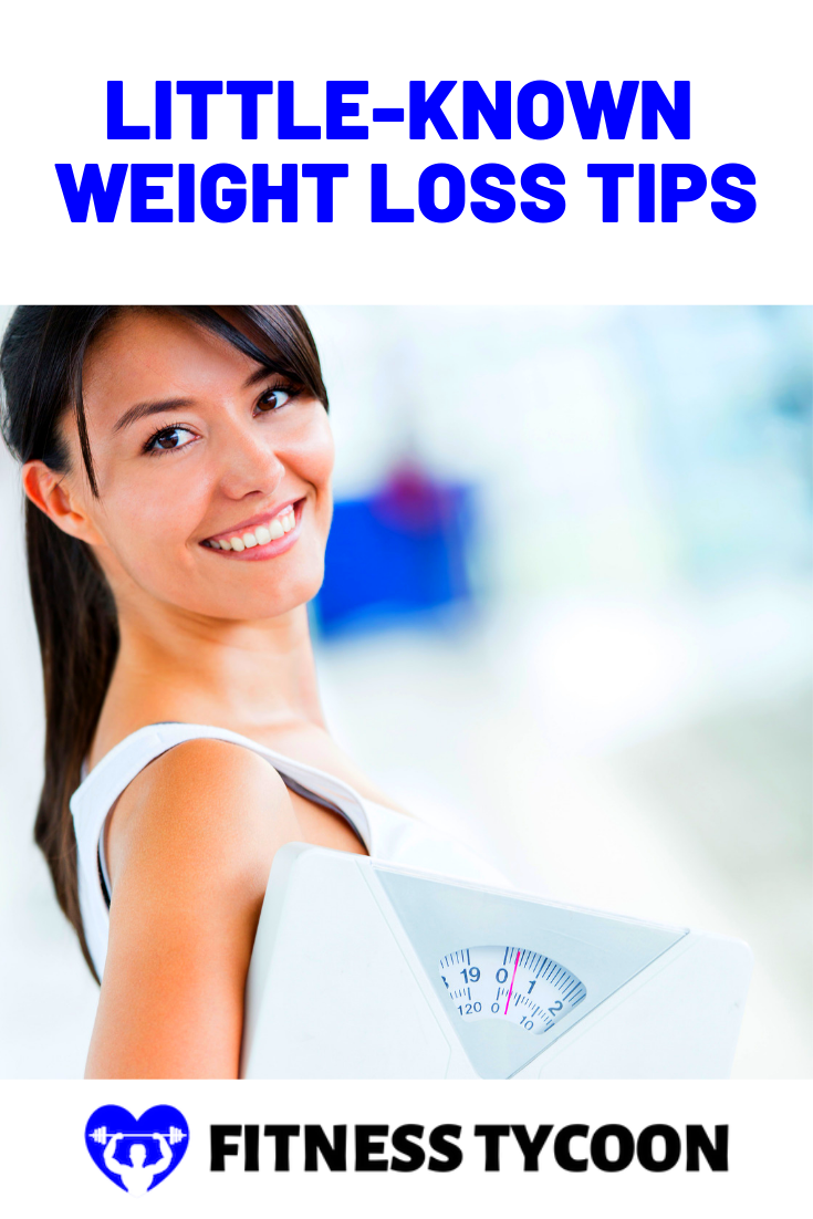 Little Known Weight Loss Tips Pinterest