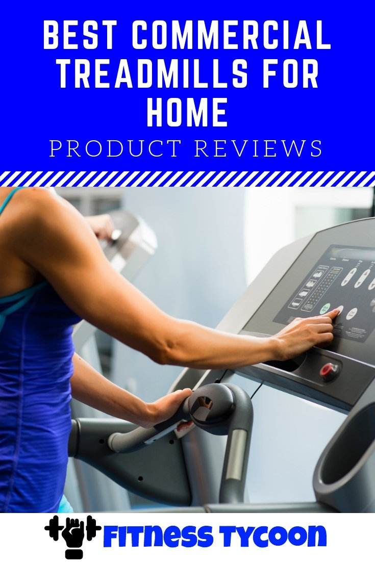 Best Commercial Treadmills For Home Reviews Pinterest Image
