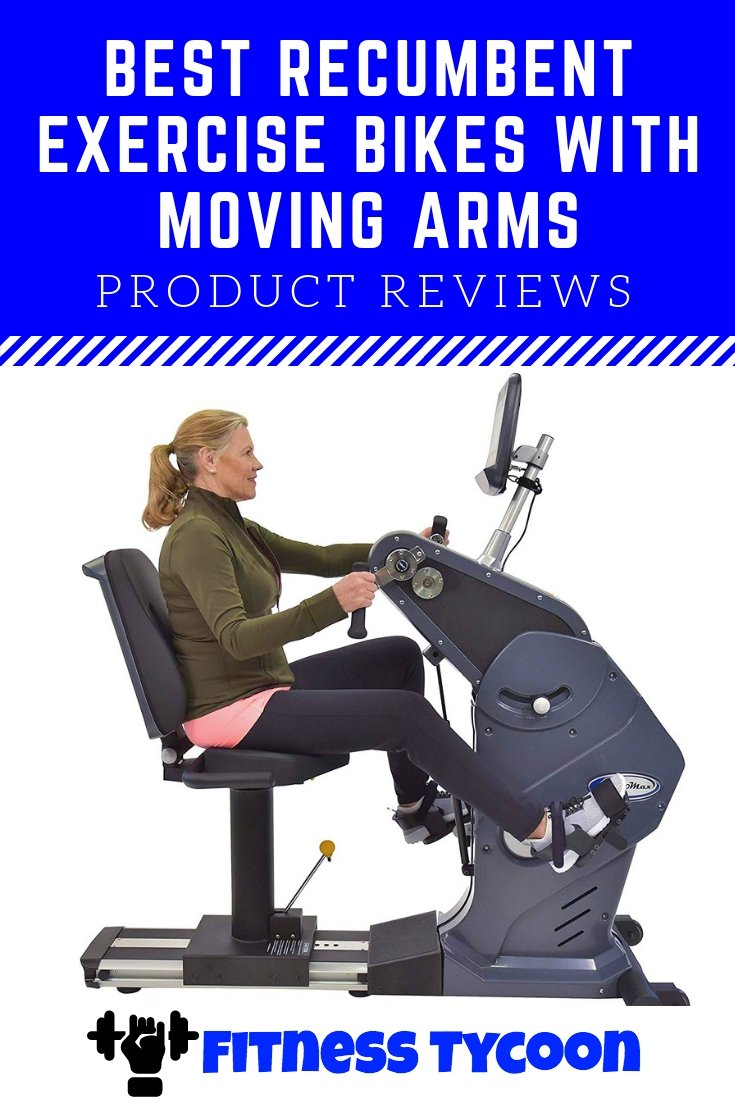 Recumbent Bike With Upper Body Workout Pinterest Image