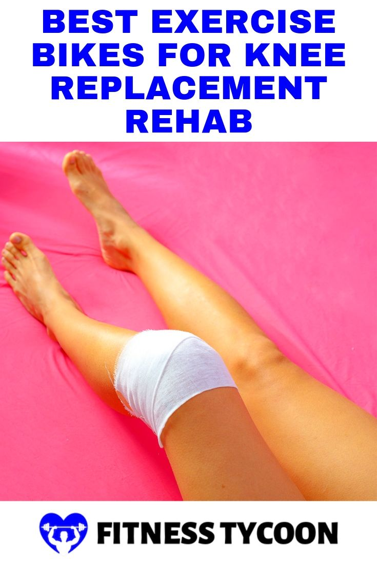 Best Exercise Bike For Knee Replacement Rehab Pinterest Image