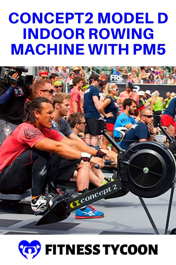 Concept2 Model D Indoor Rowing Machine With PM5 Pinterest Image