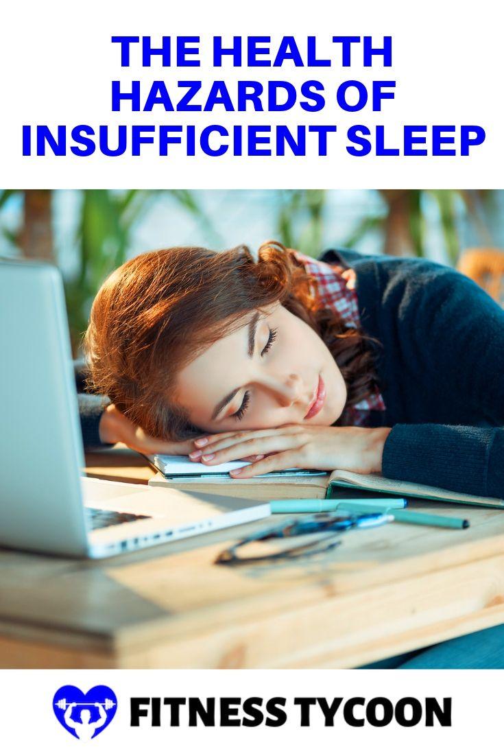 The Health Hazards Of Insufficient Sleep Pinterest Image