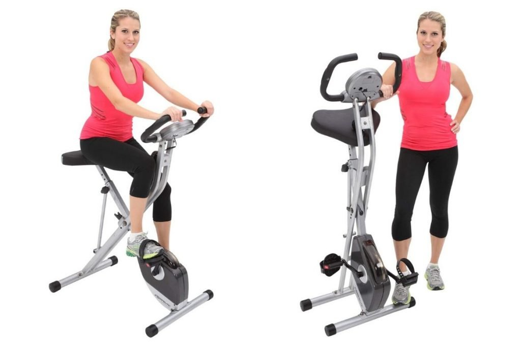 Exerpeutic Folding Magnetic Upright Exercise Bike With Pulse Review Featured Image