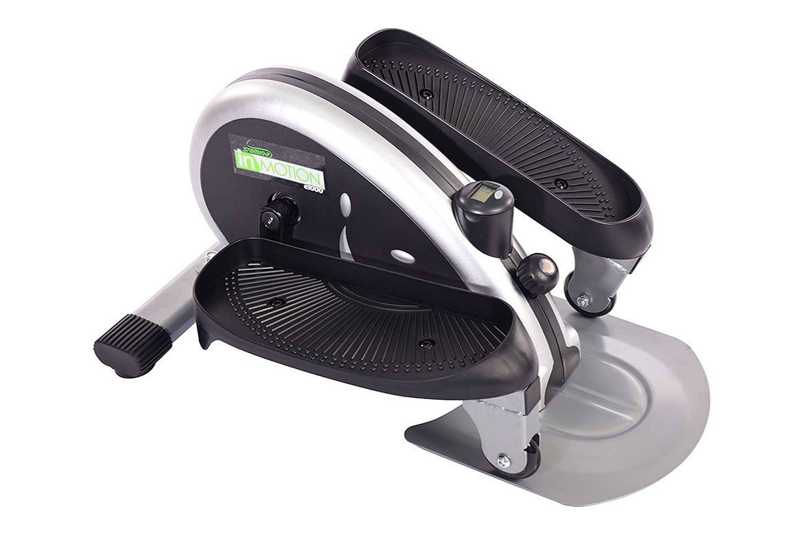 Stamina InMotion E1000 Compact Elliptical Trainer Review Featured Image