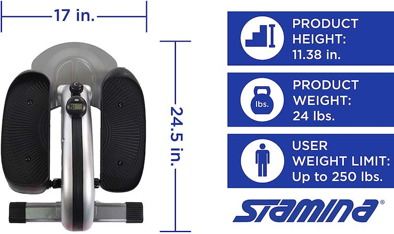 Stamina InMotion E1000 Compact Elliptical Trainer Review